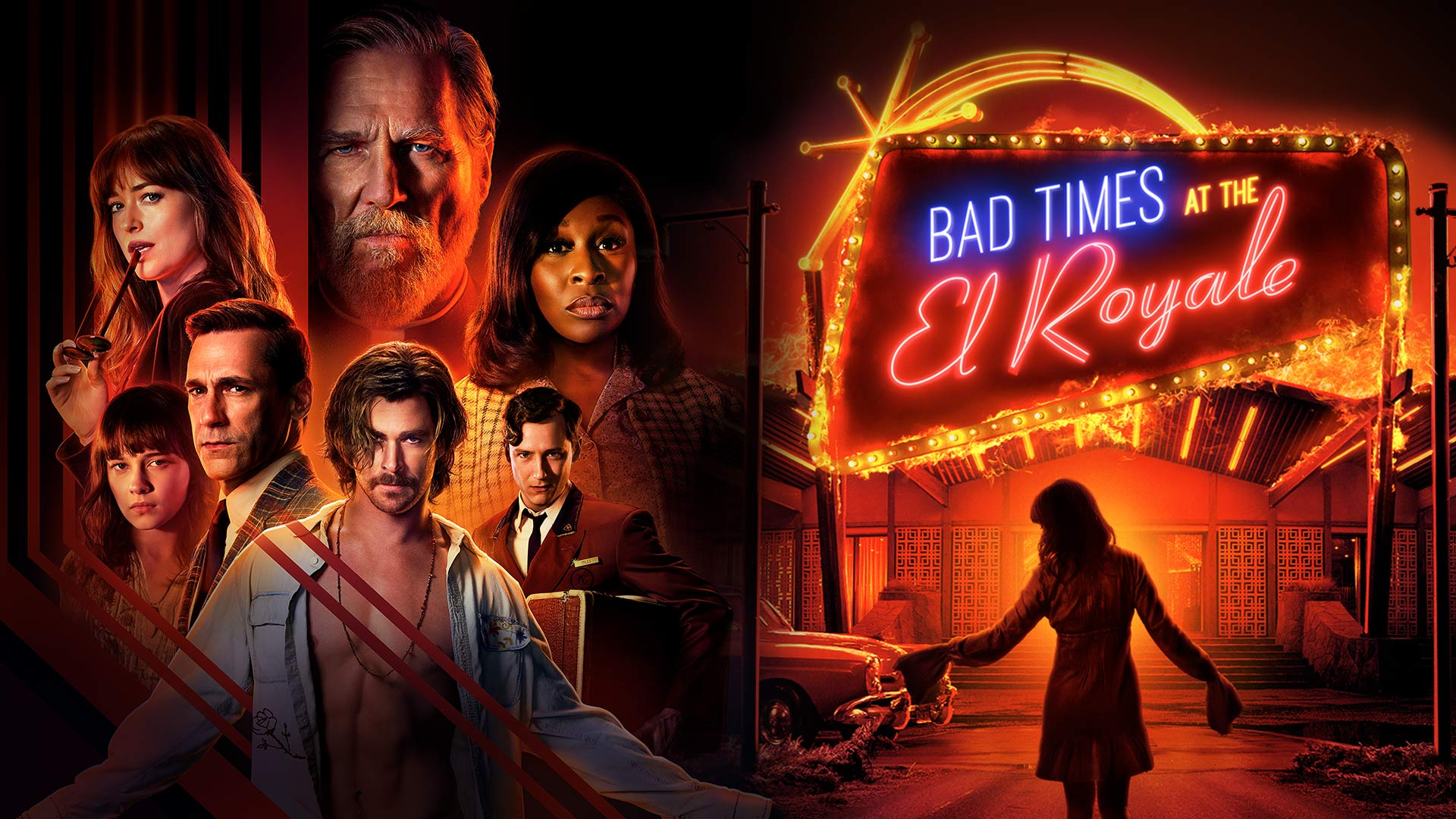 Bad times el Royale hero