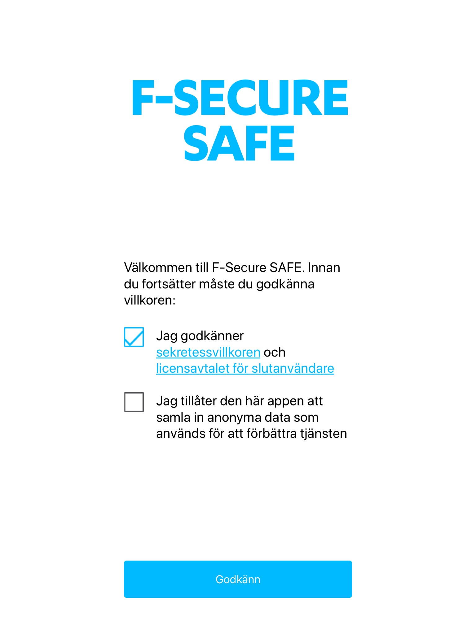 F-Secure Safe - iOS 5